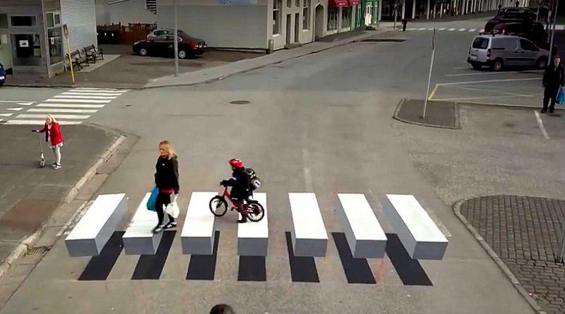 3D zebrapad
