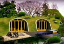 Hobbit like house – assemble your own and bury it