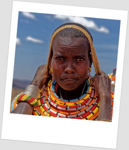 Samburu tribe woman