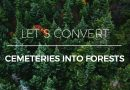 Become a tree! Let´s convert cemeteries into forests.