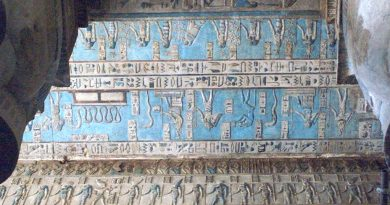 5,000 Years ago, the ancient Egyptians invented the first synthetic pigment in history