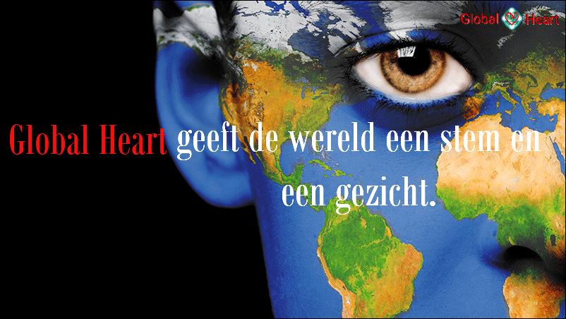 Geeft de wereld een stem en gezicht