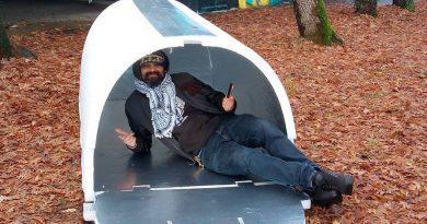 Iglou: Franse ingenieur ontwerpt warmte vasthoudende bunkers voor daklozen tijdens de winter