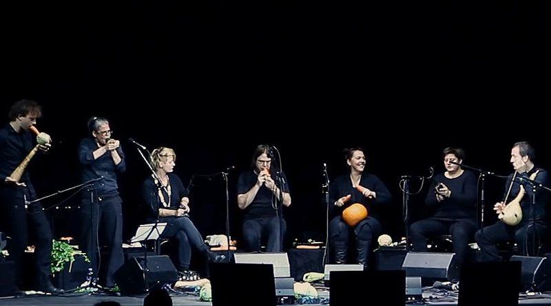 Groenten orkest