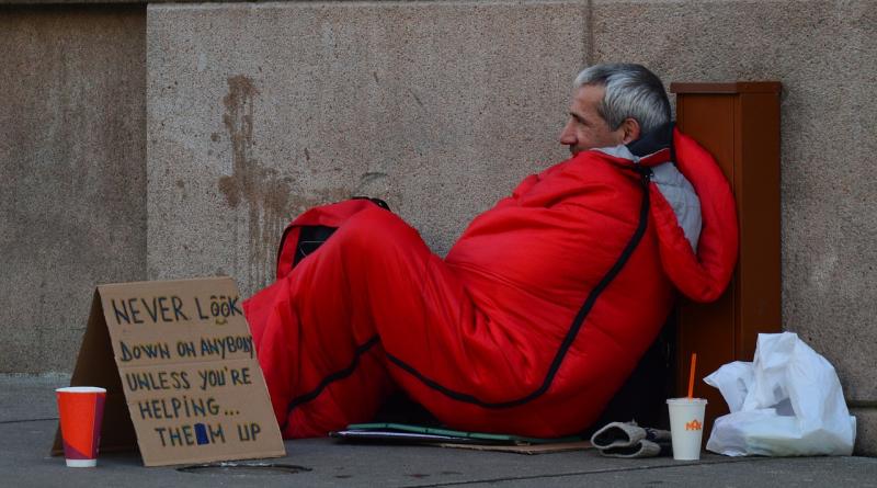 Daklozen Groot-Brittannië