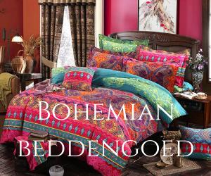 Bohemian beddengoed