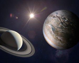 Jupiter-saturne conjunction