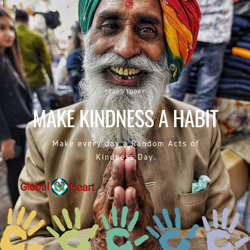 Make kindness a habit