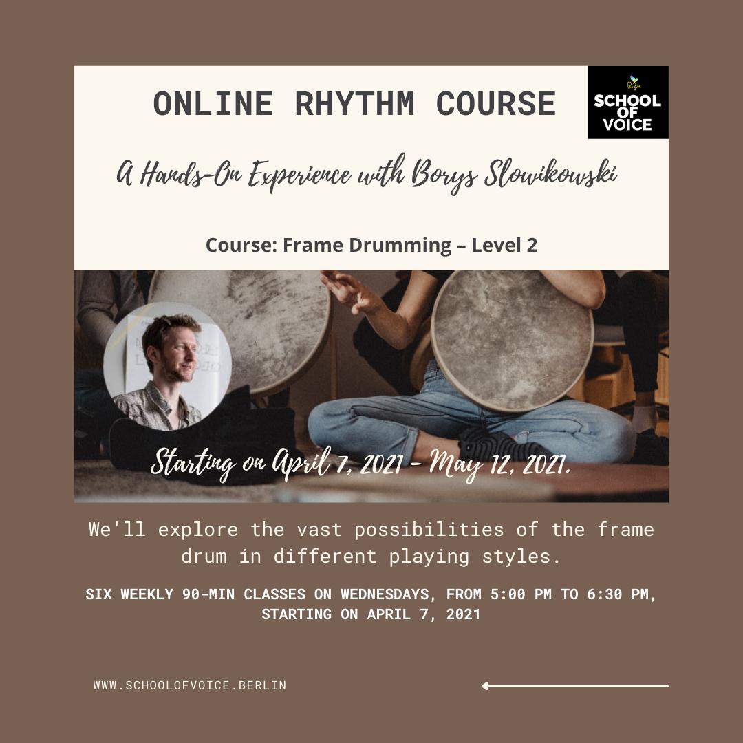 Online Rhythm Course