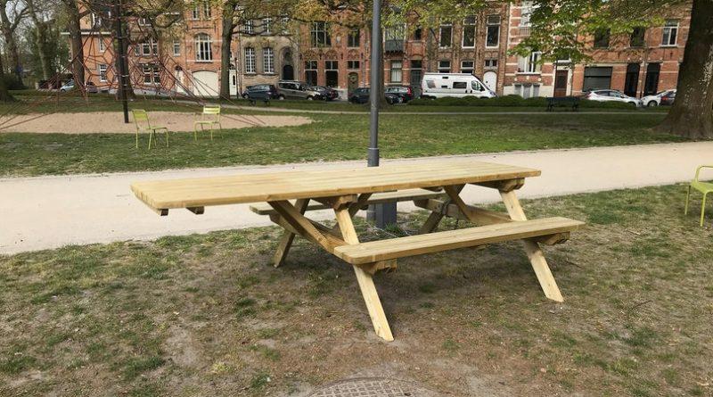 rolstoelvriendelijke picknicktafels